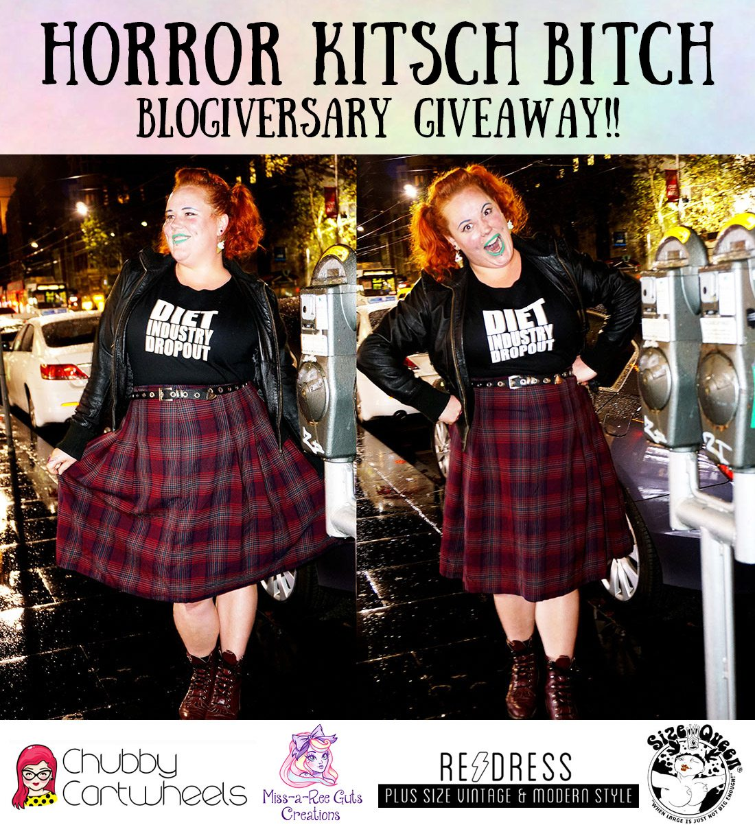 Horror Kitsch Bitch Blogiversary Giveaway Competition