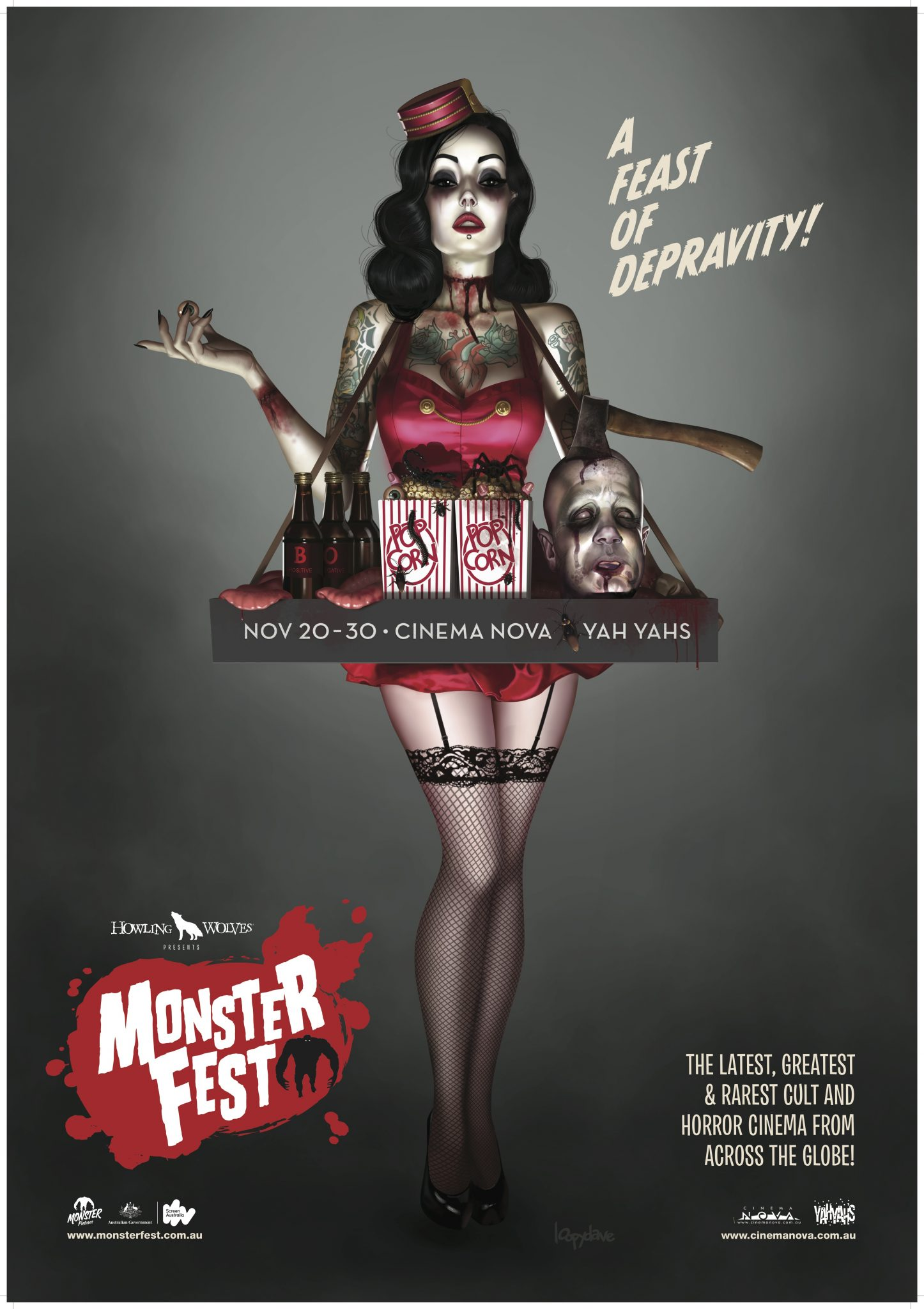 Monsterfest cinema poster-thumb-4255x6027-51406