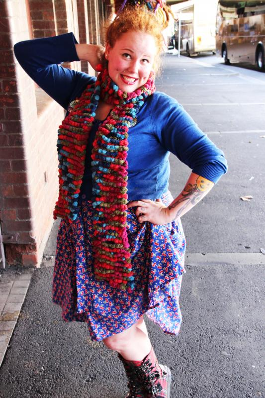 horror kitsch bitch fatshion blogger Melbourne plus size ps fat chubby fatbabe alternative pinup vintage retro dreads dreadlocks rainbow body positive effyourbeautystandards