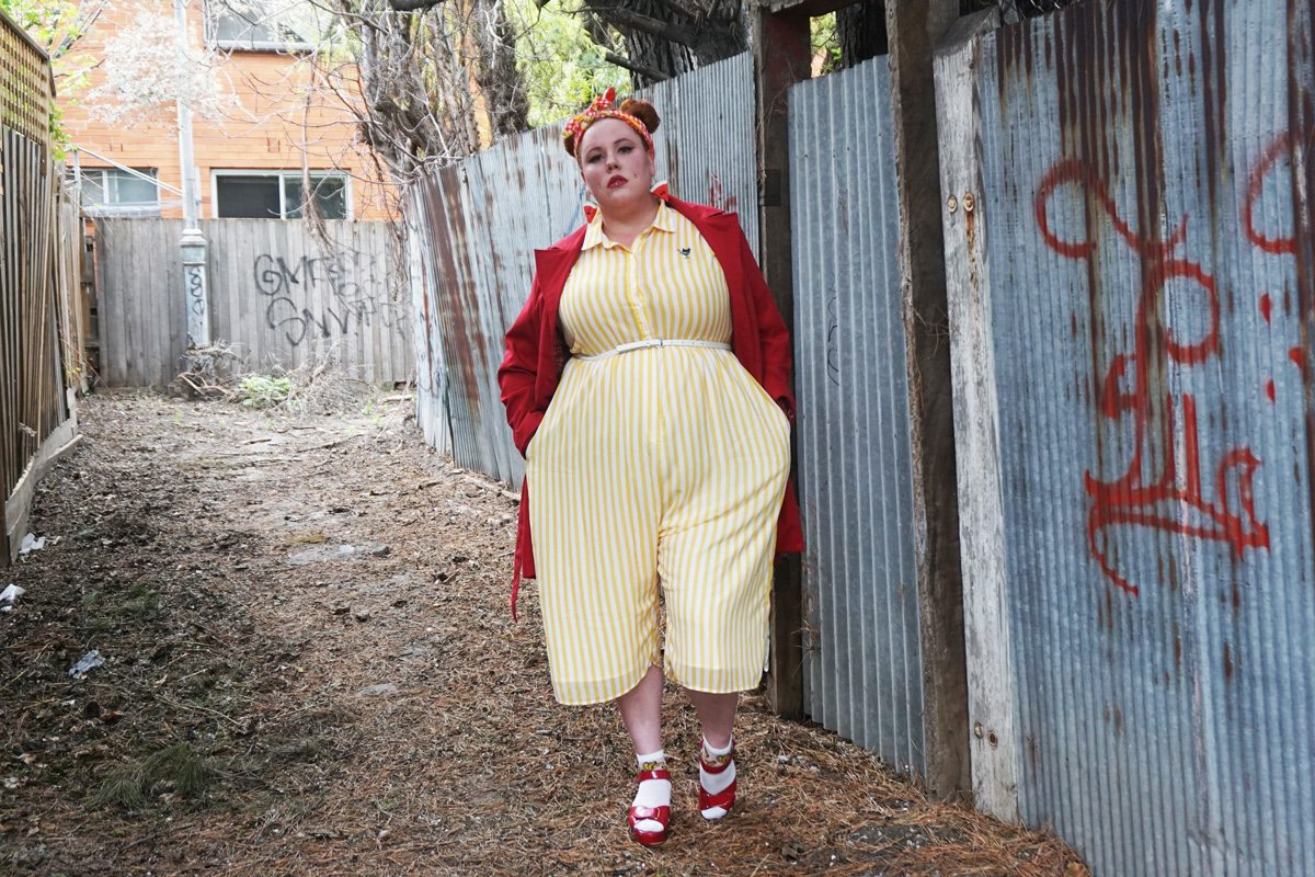 Plus size fashion blogger Horror Kitsch Bitch's 5 Days of Punyus, featuring Japanese Plus Size Clothing Label by Naomi Watanabe
