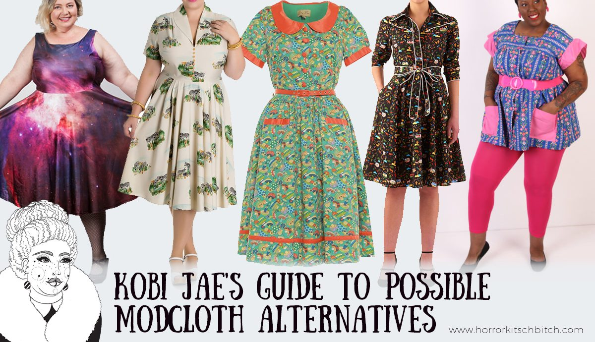 41ec8a70551968 Kobi Jae of Horror Kitsch Bitch's guide to Modcloth Alternatives for Plus  Size Vintage and Unique