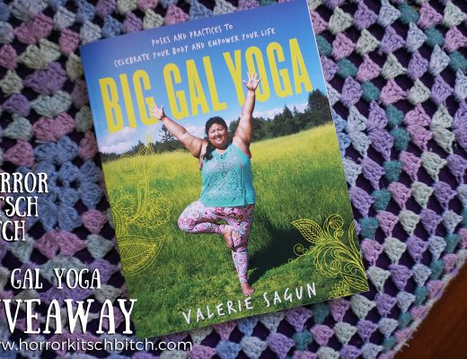 Horror Kitsch Bitch x Big Gal Yoga Book Giveaway